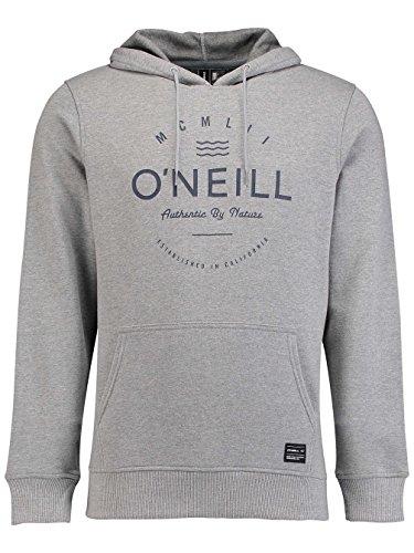 O'Neill Herren Lm Type Hoodie Sweatshirt silver melee