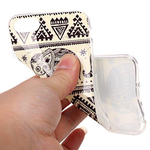 """inShang Hülle für iPhone 7 4.7"""" ,Ultra Schlank und leicht TPU Bequem Schutzhülle Rückcover (Back Case) design für Handy iPhone7 4.7 inch, 51"""