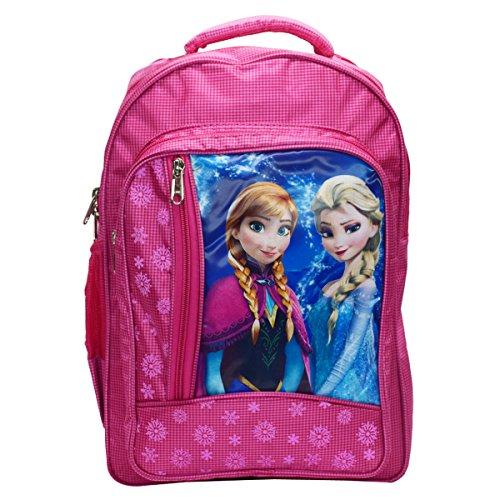 Tinytot Frozen Polyester Pink School Bag for Girls