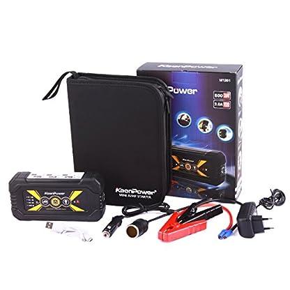 51EjDrOoBsL. SS416  - Keenpower Car Jump Starter 12V Car-Stlying Dispositivo de inicio Cargador Car Battery Booster Buster