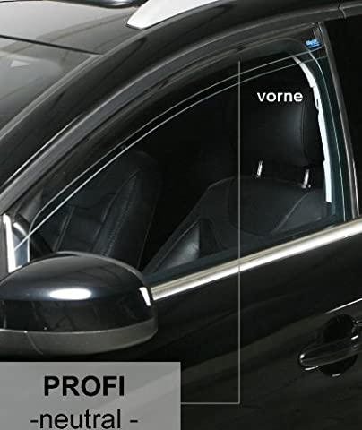 Climair CLK0 033002 K Wind and Rain Deflector Clear Neutral Front Window
