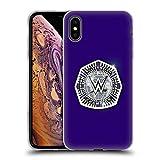 Head Case Designs Officiel WWE Cruiserweight Champion Ceintures de Titre Coque en Gel Doux Compatible avec iPhone XS Max