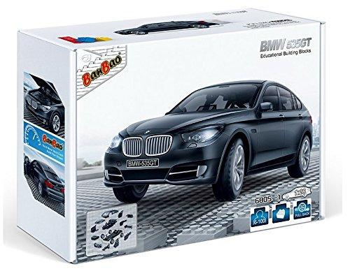 banbao-6805-1-bmw-535gt-black-construction-set-98-pcs-1-28-miniature-toy-licensed-by-bmw