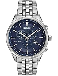 0ff9210e298 Citizen Men s Chronograph Solar Powered Watch with Stainless Steel Strap  AT2141-52L
