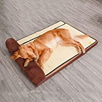 BBJOZ Removable And Comfortable Pet Bed, Filled With Three-dimensional PP Cotton, Flat Without Collapse pet bed