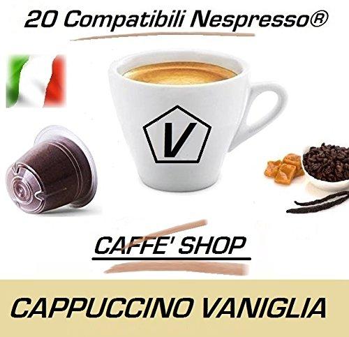 """Capsule Compatibili Nespresso®, Capsule Miscela """"Cappuccino alla Vaniglia"""" Linea Espresso (Kit Assaggio 20 Capsule)"""
