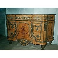 Comparador de precios LouisXV aparador de estilo antiguo barroco rococó barroco bufé MoAl0189 - precios baratos