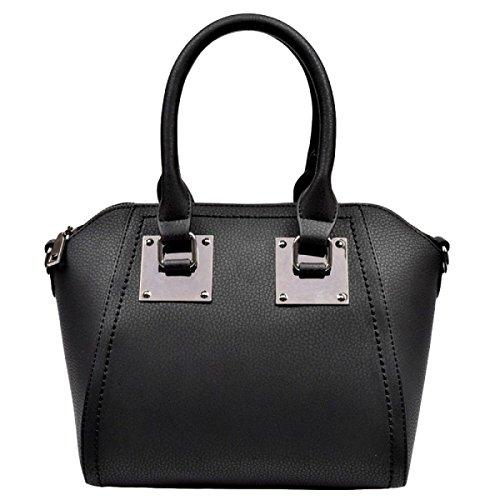 Art Und Weise Beiläufige Atmosphäre Einfache Wilde Handtaschen Schulterbeutel Kurierbeutelhandtasche Black