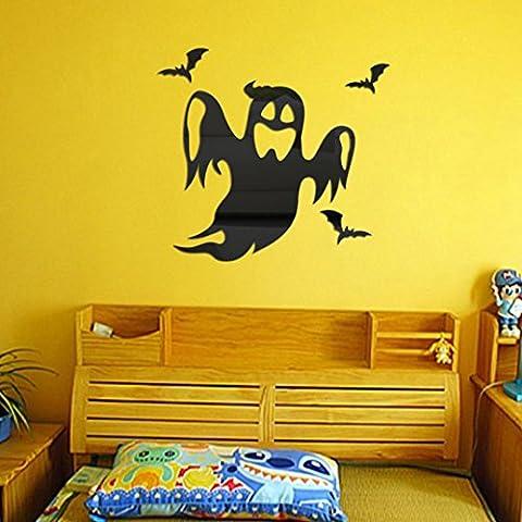 Clode® Halloween Fantasma Sfondo Decorato Soggiorno Camera da Letto Adesivi