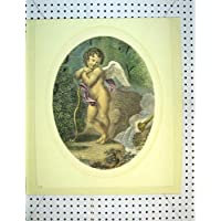 Spada Greca Westall della Donna di Imogene della Stampa dell'Oggetto D'antiquariato C1810