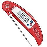 OVOS Kochen Barbecue-Fleisch-Thermometer Ultra Fast Instant-Read-Digital-elektronische Grillthermometer mit klappbaren Interne