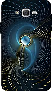 Incarnation Designer Pattern Uv Printed Galaxy J7 Back Cover & Cases