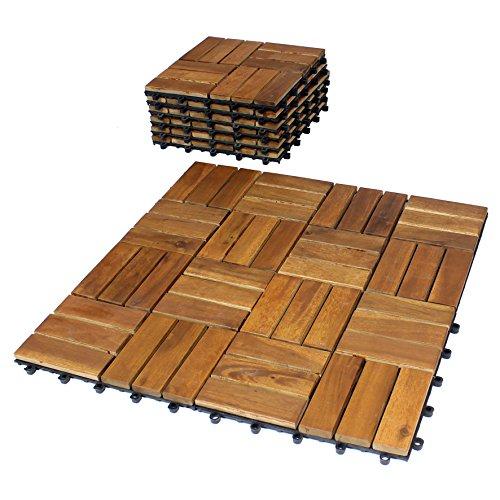 Balkonfliesen Holz Klickfliese Thumbnail