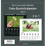Foto-Bastelkalender 2017 - 2 in 1: schwarz und weiss - Bastelkalender: Do it yourself calendar (21 x 22) - datiert