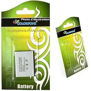 Batterie Lithium-Ion pour Sony Ericsson K530i K550c K550im K790i K800i K810i M600i P990i V800i W300i W610i W660i W850i W880i W900i W950i W960i Z250i Z530i Z750i Z800i