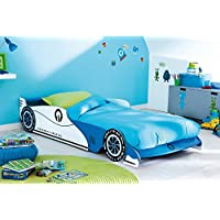 Preisvergleich für Autobett inkl.Rollrost + Matratze 90 * 200 cm Kinderbett Autorennbett Rennautobett Jugendbett Jugendliege Bettliege Bett Einzelbett Kinderzimmer