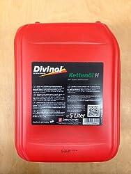 DIVINOL Kettenöl H mit Haftzusatz 5 l Inhalt