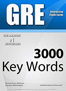 GRE Interactive Flash Cards - 3000 Key Words. A powerful method to learn the vocabulary you need. (English Edition) par [Mylonas, Konstantinos]