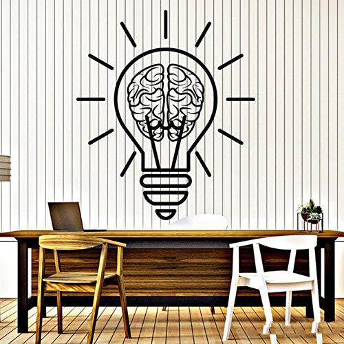 irn Motivation Wohnkultur Büro Zimmer Wandaufkleber Abnehmbare Kunstwand Schlafzimmer Wohnzimmer Glastür Zitat Aufkleber 42X49 cm ()