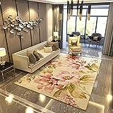 Insun Tappeto Moderno Tappeti del Salotto Motivo Floreale Antiscivolo Lavabili Stile 1 120x160cm