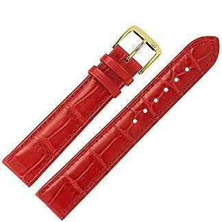 MARBURGER-Uhrenarmband-18mm-Leder-Rot-Alligator-Werkzeug-Montage-Set-8241840000220