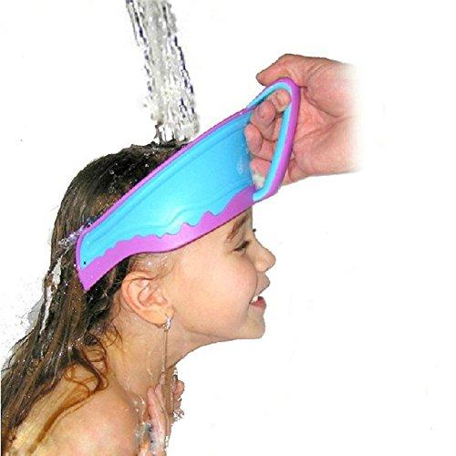 Shampooschutz Shampoo-Schutzschild Weich Kappe für Baby-Kinder-Duschen Baden sichere Shampoo-Schutz