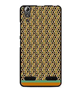 PrintDhaba Pattern D-1576 Back Case Cover for LENOVO A6000 (Multi-Coloured)
