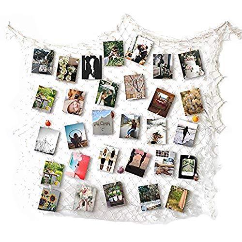 RECESKY Foto hängende Anzeige, Bilderrahmen Wanddekoration, Fotorahmen Collage -