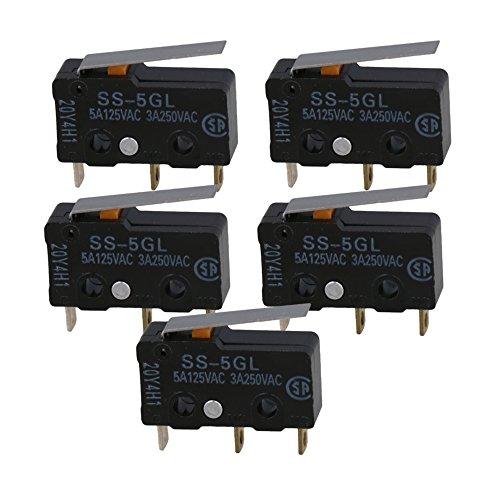 Mikroschalter RAMPS 1.4 Endstop Tact Schalter F/Ã/¼r Mechanisch F/Ã/¼r RepRap//CNC//RC Packung mit 5
