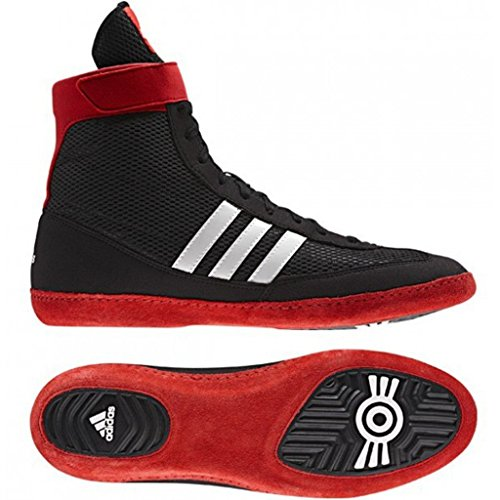 Adidas Combat Speed IV Wrestling Shoes Ringer Shoes 4 Rings Black Size: 14