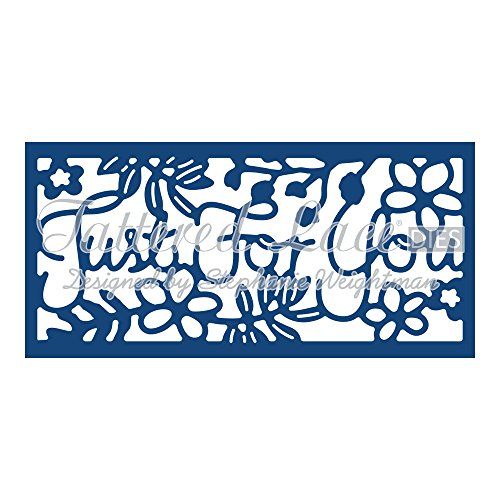 Tattered Lace Just For You Panel Inset D773 Stephanie Weightman by Tattered lace -