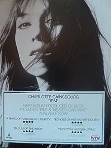 Charlotte Gainsbourg-La Gir-Fixation de presse Poster