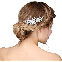 Amazon.it  Perline Capelli Sposa - Hopefultech 9aae028b1097