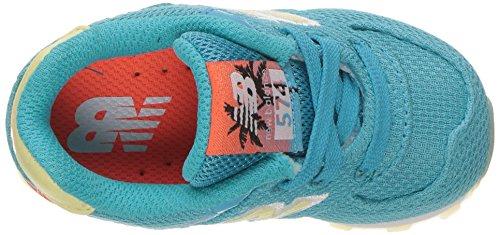 New Balance Unisex-Kinder Kl574wtg M Sneakers Blau / Weiß