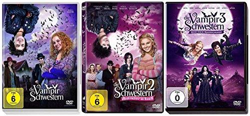 Die Vampirschwestern Teil 1+2+3 (1-3) DVD Set