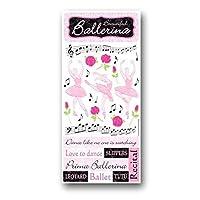 Ballerina Dance Glitter Stickers