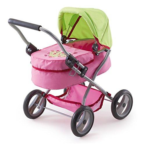 Bayer Design 12017 - Puppenwagen My First Trendy, rosa/grün