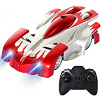 ANTAPRCIS Remote Control Car, Wall Climbing Car with Cool LED and 360° Rotating - Compare prices on radiocontrollers.eu