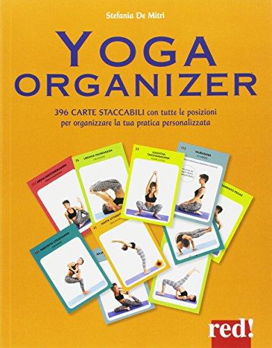 yoga organizer. ediz. a colori. con 396 carte