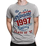 21 Years Of Being Awesome Mens 21st T-Shirt Class Of 1997 Birthday Gift Aged To Perfection by Buzz Shirts® XXXL