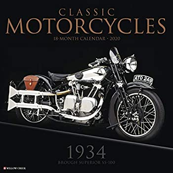 Classic Motorcycles 2020 Calendar: 1934 Brough Superior Ss-100