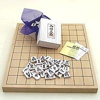 Establecer pieza de talla camelia blanca en una tabla de dimensiones y unirse tablero Shochiku shogi fij? nueva mosquitera (jap?n importaci?n)