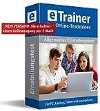 Einstellungstest Komplettpaket: eTrainer – Der Online-Testtrainer | Über 2.600 Aufgaben mit Lösungen: Allgemeinwissen, Sprache, Mathe, Logik, visuelles Denkvermögen, Konzentration… | Eignungstest üben