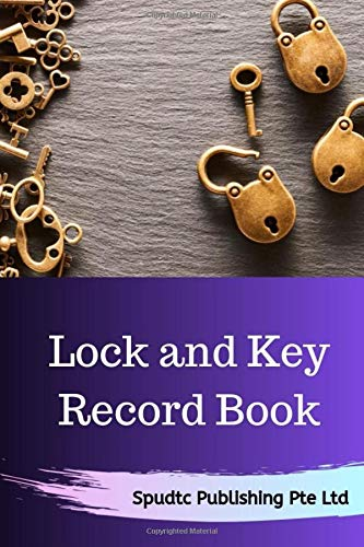 Lock and Key Record Book
