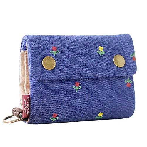Qchomee Unisex Geldbeutel Mini Handytasche klein Reisedokumententasche Geldbörse Portemonnaie mit Münzfach Kartenfächer multifunktionale Geldtasche Frauen Handgelenktasche Wallet mit Handyhülle -