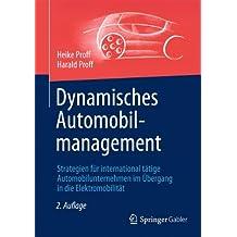 Dynamisches Automobilmanagement: Strategien für international tätige Automobilunternehmen im Übergang in die Elektromobilität