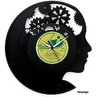 Idea regalo Psicologa regalo laurea psicologia idea regalo studio psicologa Orologio in vinile originale made in Italy Vinyluse