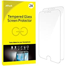 JETech Protector de Pantalla para iPhone 6s Plus iPhone 6 Plus, Vidrio Templado, 2 Unidades