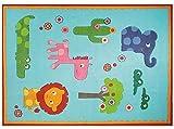 Zoo blau Kinderteppich ESPRIT ESP- 3634-02, Größe:120*180cm