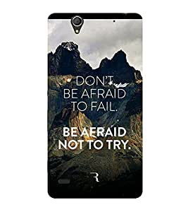 Doyen Creations Designer Printed High Quality Premium case Back Cover For Sony Xperia C4